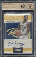 PAUL GEORGE 2010-11 CLASSICS PACERS ON CARD ROOKIE AUTO RC /449 BGS 9.5 w/ 10 AU