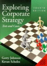 Exploring Corporate Strategy: Text and Cases By  Gerry Johnson, .9780135256350