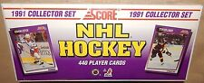 NEW FACTORY SEALED1991 SCORE NHL HOCKEY BOX SET*440 ROOKIES & STARS SPORTS CARDS