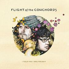 Flight Of The Conchords I TOLD YOU I WAS FREAKY +MP3s & Poster NEW VINYL LP