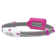Led Lenser Mens Womens Running Sport Neo Headlight Headtorch Lamp Pink Red