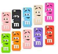 Novelty M&M style Iphone Soft Cover  UK seller phone case