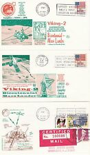 1976 - Mars landing VIKING 2 - 3 space covers