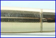 SOLID GOLD 585 MONTBLANC Masterpiece 744 N Fountain Pen / NO CAP
