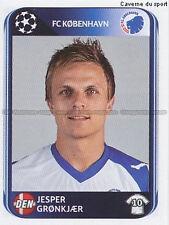 N°256 GRONKJAER # DENMARK FC.KOBENHAVN UEFA CHAMPIONS LEAGUE 2011 STICKER PANINI