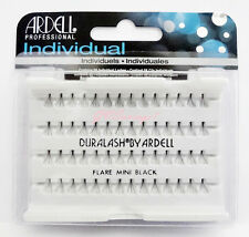 NIB~ Ardell DURALASH Flare MINI Individual Lashes Lash Eyelashes Flair Black