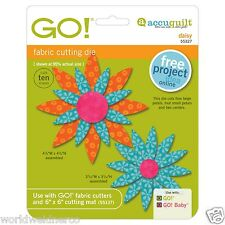 AccuQuilt GO! & Baby Daisy Fabric Cutting Die 55327 Quilting Sewing Applique Sew