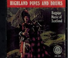 HIGHLAND PIPES AND DRUMS - BAGPIPE MUSIC OF SCOTLAND - MINT CD