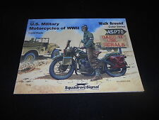 SQUADRON/SIGNAL 5707, US MILITARY MOTORCYCLES OF WWII WALK AROUND by DAVID DOYLE