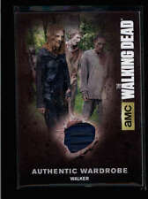 WALKER SEASON 4 WALKING DEAD 2016 CRYPTOZIOC AUTHENTIC WORN WARDROBE #M39 AB8825