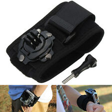 360 Rotation Wrist Hand Strap Band Holder Mount For GoPro HD Hero 2 3+ 4 Session
