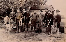 Groupe de Chasseurs c. 1880 - Oise