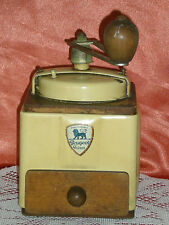 COFFEE GRINDER WOODEN PEUGEOT AND METAL FRENCH