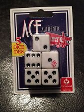 Dice (5 pack) - Jokes, Gags and Pranks - Five Standard Ace Authentic Dice!