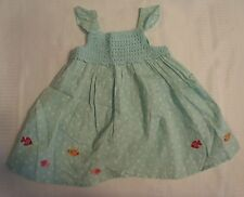 GYMBOREE Girls 3-6 Month Floral Reef Dress Diaper Cover Outfit NWT