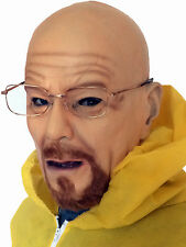 Defective Walter White mask and glasses Heisenberg Breaking bad cosplay