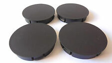 4 pcs 60mm / 55mm Black Universal Wheel Center Hub Centre Caps Rims Set NEW