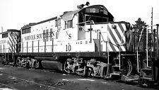 Norfolk Southern (NS) #10 Black & White Print