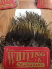 Whiting Farms Coq De Leon Tailing Pack -- Streams of Dreams Fly Shop