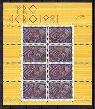 Schweiz **  MiNr 1196 Flugpostmarken Kleinbogen