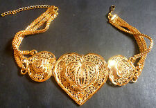22K Gold Plated Indian Bollywood Ethnic Fashion Bajubandh Armlet Upper hand Seta