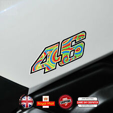 Valentino Rossi 46 Motorcycle Sticker Decals Reflective Vinyl 120mm F106