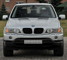 Eyebrows for BMW X5 E53 1999-2003 headlight eyelids lids ABS Plastic