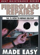 Fiberglass Repairs Made Easy V.2 - How to Repair Gelcoat Bennett Marine H618 DVD