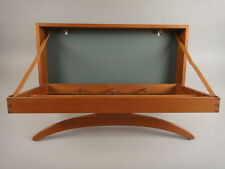 Danish Mid century Wall Mount Folding Valet by Adam Hoff and Poul Ostergaard
