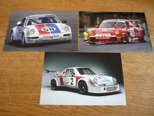 EARLY PORSCHE RACING 911 ORIGINAL PRESS PHOTOS X 3