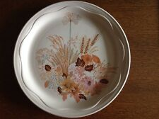 """Poole Pottery SUMMER GLORY Collection-Large 10"""" Plate/Serving Plate-NEVER USED"""