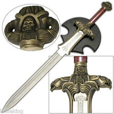 Conan The Barbarian Atlantean Hyborian Age Sword - Engraved w/ Plaque