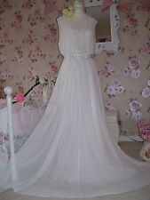 Coast NEW  18 vintage inspired stunning ivory embellished wedding bridal dress