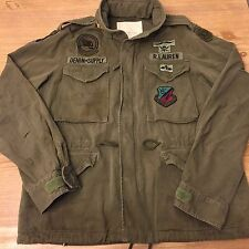 L NWT Ralph Lauren Denim & Supply Camo Military Field Jacket patch usa Large