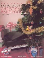 Alfred's Basic Adult Course, Christmas Piano Book 1 (Alfred's Basic Adult Piano
