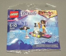 LEGO Friends Pop Star Red Carpet w Andrea 30205 Set Polybag NEW Sealed