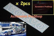 """2x 8.5""""21.6cm Volvo sticker decal 850 S40 C30 S60 V70 T4 T5 T6 design R moose XC"""