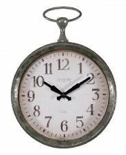 La Crosse Pocket Watch Style Frame 9 Inch Quartz Wall Clock New Battery Operated