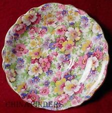 "KENT, JAMES England DUBARRY pattern Saucer - 5-3/4"" chintz"
