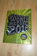 Guinness World Records Nachschlagewerk 2016 aktuell in englisch wie neu