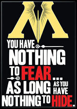 Harry Potter Photo Quality Magnet: You have nothing to fear...