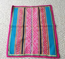 Peruvian Aguayo Table Cloth-  Andean Mountain Textile