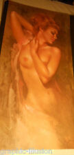 Vintage Fine Art Reproduction, Lithograph by Leo Janson -- Nude graphic-illusion