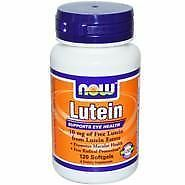 Lutein 10 Mg (From Esters)  120 Sgels NOW Foods