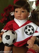 """X-MAS Sale LEE MIDDLETON """" Just For Kick's """" Collectable Doll By Reva Schick"""