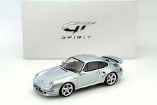 Porsche 911 (993) Turbo S silber 1:18 GT-SPIRIT