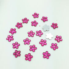 New Diy 100pcs 10MM Rose Flower Flatback Resin Scrapbooking for Phone/Craft B10