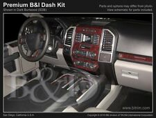 FORD F150 WOOD DASH KIT Fits 2015-2017 WITH BENCH SEATS