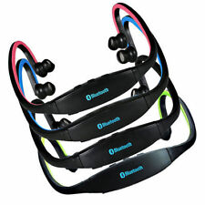 Ecouteur Bluetooth Main Libre Sport Music & Appelle + Radio FM + MP3 4 Couleurs