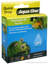 Aqua One Quick Drop Freshwater pH Test Kit Wide Range 4.5 to 10 for Aquarium